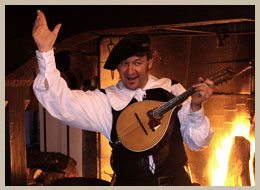 Marksburg Sch�nke Medieval banquet Bards and travelling artists